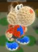 Villager amiibo Yoshi from Yoshi's Woolly World
