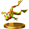 Winky trophy from Super Smash Bros. for Wii U