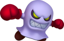 Artwork of a Broozer from Dr. Mario World