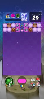 World 22's Special Stage from Dr. Mario World