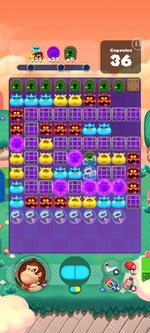Stage 597 from Dr. Mario World