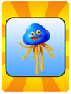 A Venture Card from Fortune Street indicating that a Healslime will appear on the board
