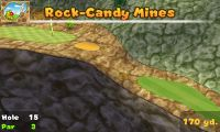 Hole 15 of Rock-Candy Mines (golf course) in Mario Golf: World Tour