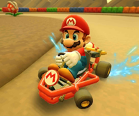 The icon of the Mario Cup challenge from the 2019 Winter Tour and the Bowser Cup challenge from the Summer Festival Tour in Mario Kart Tour