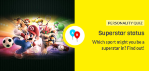 The icon for Mario Sports Superstars Game Personality Quiz