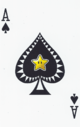 The Ace of Spades card from the NAP-02 deck.