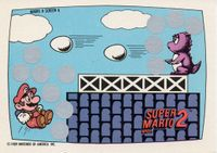 A Nintendo Game Pack scratch-off game card of Super Mario Bros. 2 (Screen 6 of 10)