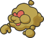 Sprite of Huff N. Puff, from Paper Mario.