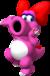 Artwork of Birdo from Mario Party 7 (also used in Mario Kart Wii)
