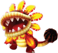 Firey Dino Piranha from Super Mario Galaxy.