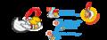 Kinder Joy 2020 Super Mario keyrings.png