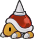 Red Spike Top from Paper Mario: The Thousand-Year Door.
