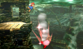 SSB4 3DS - Mario Punches Kirby.png