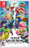 North American cover art of Super Smash Bros. Ultimate