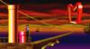 Mario in the level Ship 2.