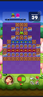 Stage 553 from Dr. Mario World