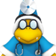 Sprite of Dr. Kamek from Dr. Mario World