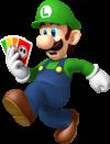 Artwork of Luigi for Mario Party: Island Tour