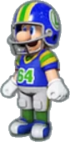Luigi's Football Uniform icon in Mario Kart Live: Home Circuit