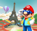 Paris Promenade T from Mario Kart Tour
