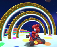 The icon of the Hammer Bro Cup challenge from the New Year's 2021 Tour in Mario Kart Tour.