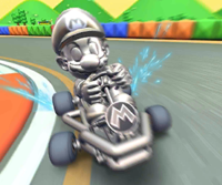 The icon of the Roy Cup challenge from the 2019 Winter Tour in Mario Kart Tour