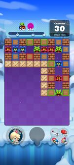 Stage 1024 from Dr. Mario World