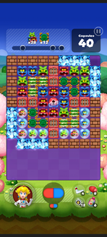 Stage 534 from Dr. Mario World