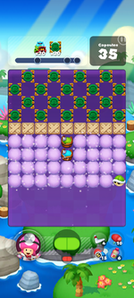 Stage 615 from Dr. Mario World