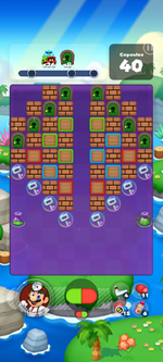 Stage 630 from Dr. Mario World