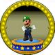 A figure with Luigi on it.