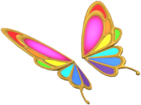 Butterfly Prism from Mario Kart Tour