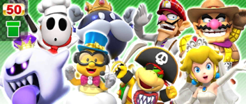 The Team Bowser Pipe from the Bowser vs. DK Tour in Mario Kart Tour
