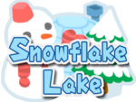 Logo for Snowflake Lake in Mario Party 6