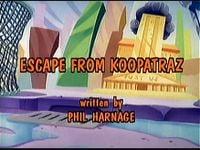 Escape from Koopatraz Title Screen