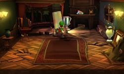 The Studio segment from Luigi's Mansion: Dark Moon