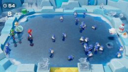 Penguin Pushers from Super Mario Party