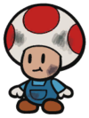 Toad's Automoboots mechanic in Paper Mario: The Origami King