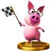 Tutorial Pig trophy from Super Smash Bros. for Wii U