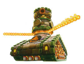 Artwork of Boomsday Machine from Super Mario Galaxy 2