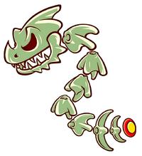 Davy Bones artwork from DK: King of Swing