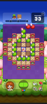 Stage 529 from Dr. Mario World