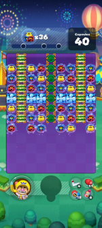 Stage 665 from Dr. Mario World