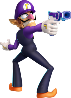 LOOK AT HOW AWESOME WALUIGI IS.