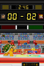 Individual epée in Mario & Sonic at the Olympic Games for Nintendo DS