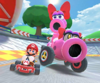 The icon of the Bowser Cup challenge from the 2020 Yoshi Tour in Mario Kart Tour.