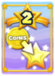 Takes a large number of your Coins (based on your level) in exchange for up to 12 Star Points.