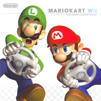 Mario Kart Wii Platinum Soundtrack cover