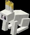 Minecraft Mario Mash-Up White Rabbit Render.png