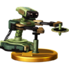 R.O.B. trophy from Super Smash Bros. for Wii U